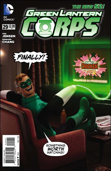 Green Lantern Corps (2011) 29-B by DC