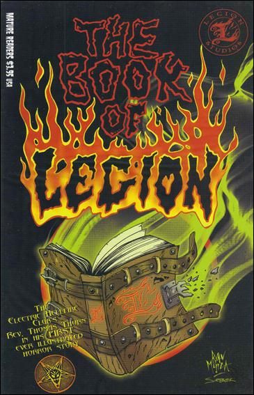 Book of Legion 1-B by Boneyard Press