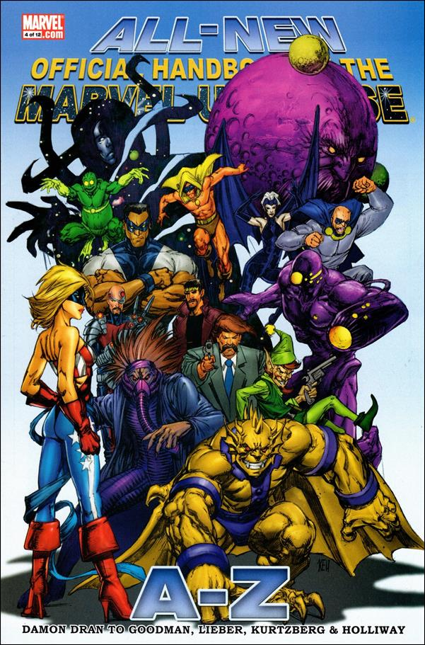 All-New Official Handbook of the Marvel Universe A to Z 4-A by Marvel