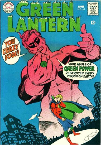 Green Lantern (1960) 61-A by DC