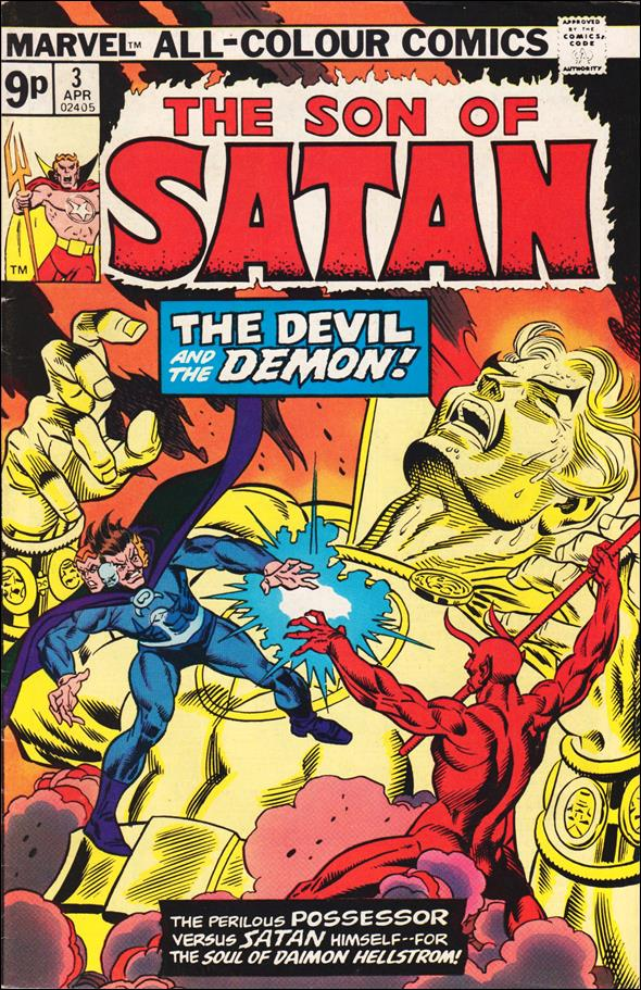 Son of Satan 3-B by Marvel