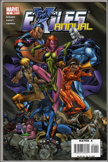 Exiles Annual 1-B by Marvel