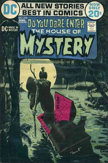House of Mystery (1951) 205-A by DC