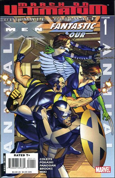 Ultimate X-Men/Ultimate Fantastic Four Annual 1-A by Marvel