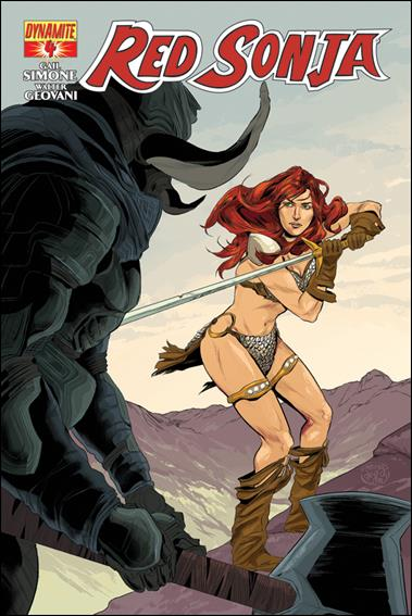 Red Sonja (2013) 4-B by Dynamite Entertainment