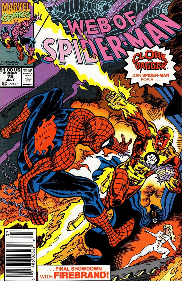 Web of Spider-Man (1985) 78-A by Marvel