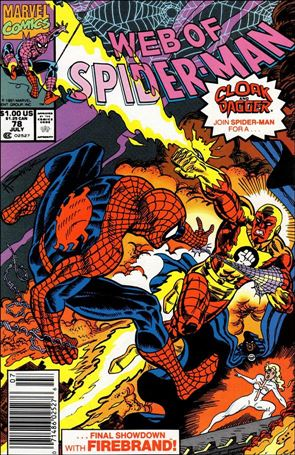 Web of Spider-Man (1985) 78-A