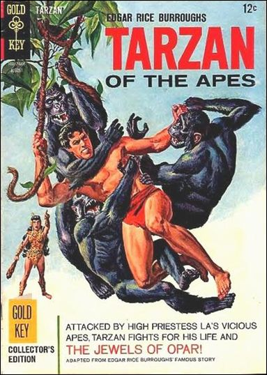 Tarzan (1962) 159-A by Gold Key