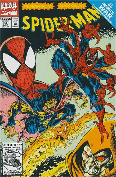 Spider-Man (1990) 24-A by Marvel