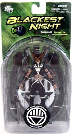 Blackest Night (Series 6) Black Lantern Hawkgirl
