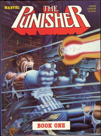 Punisher Book One 1-A by Marvel UK