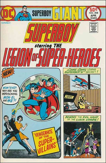 Superboy (1949) 208-A by DC