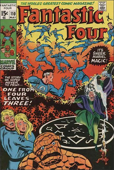 Fantastic Four (1961) 110-A by Marvel