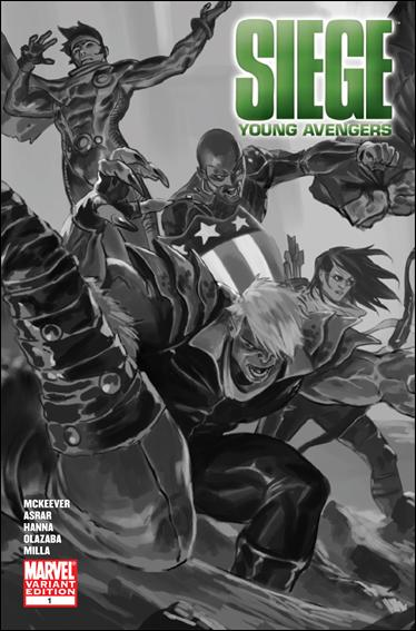 Siege: Young Avengers 1-B by Marvel