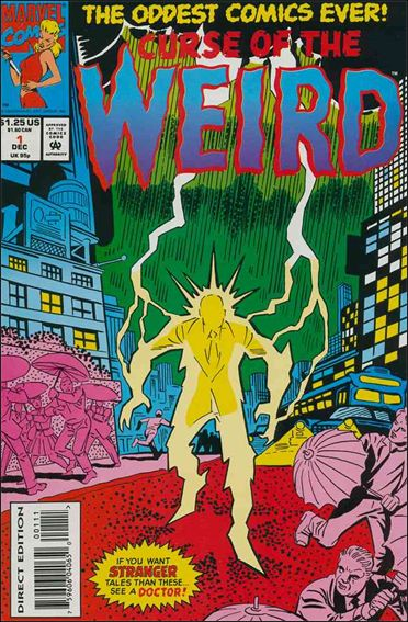 Curse of the Weird 1-A by Marvel