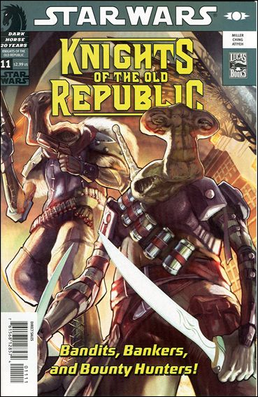 Star Wars: Knights of the Old Republic 11-A by Dark Horse