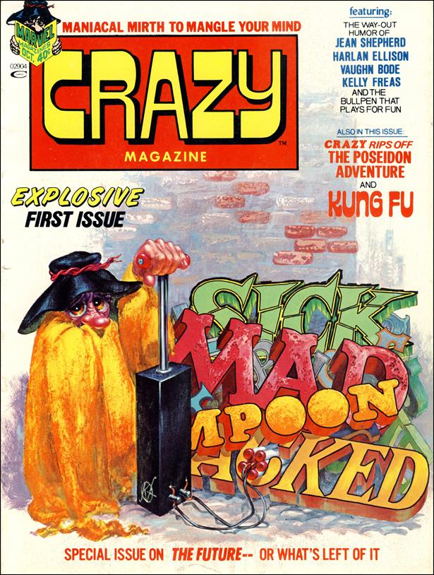Crazy (1973/03) 1-A by Marvel
