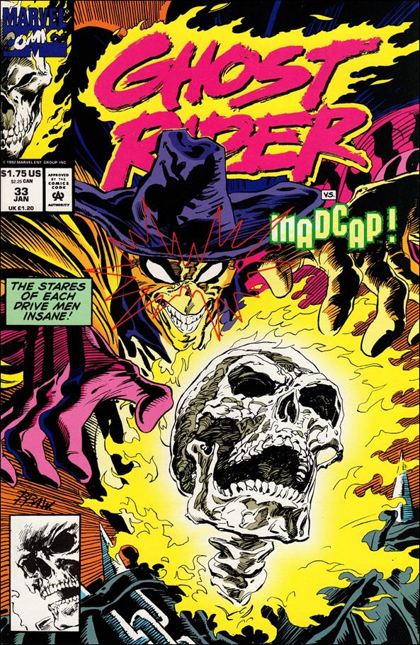 Ghost Rider (1990) 33-A by Marvel