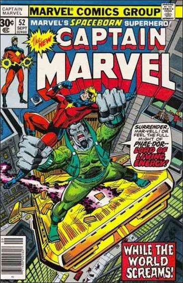 Captain Marvel (1968) 52-A by Marvel