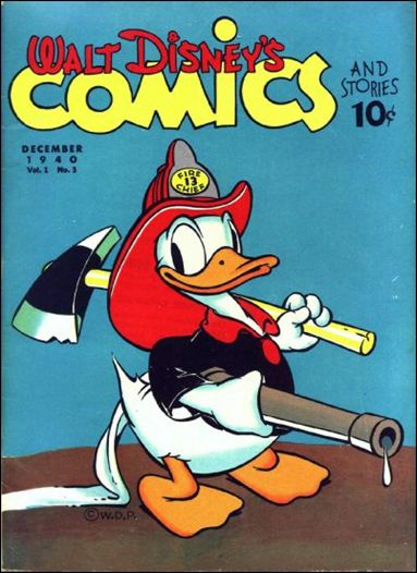 Walt Disney's Comics and Stories (1940) 3-A by Dell