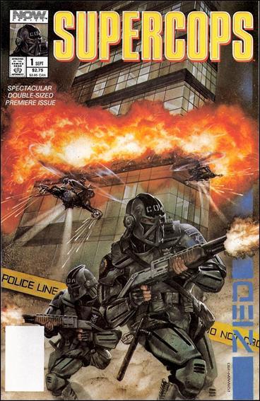 Supercops 1-A by Now Comics