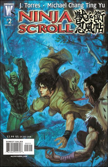 Ninja Scroll 2-A by WildStorm