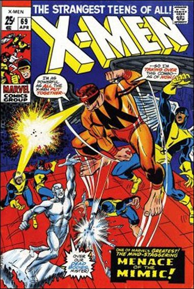 X-Men (1963) 69-A by Marvel