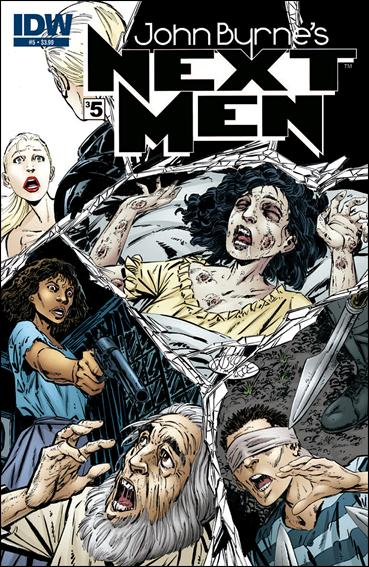 John Byrne's Next Men (2010) 5-A by IDW