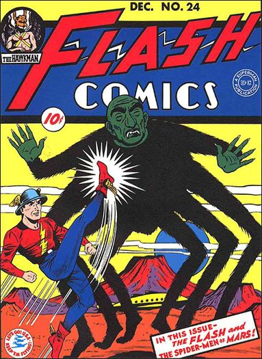 Flash Comics (1939) 24-A by DC