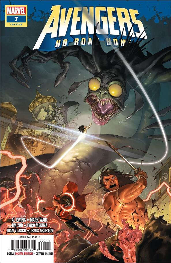 Avengers: No Road Home 7-A by Marvel
