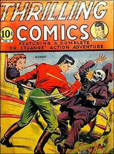 Thrilling Comics (1940) 7-A by Standard