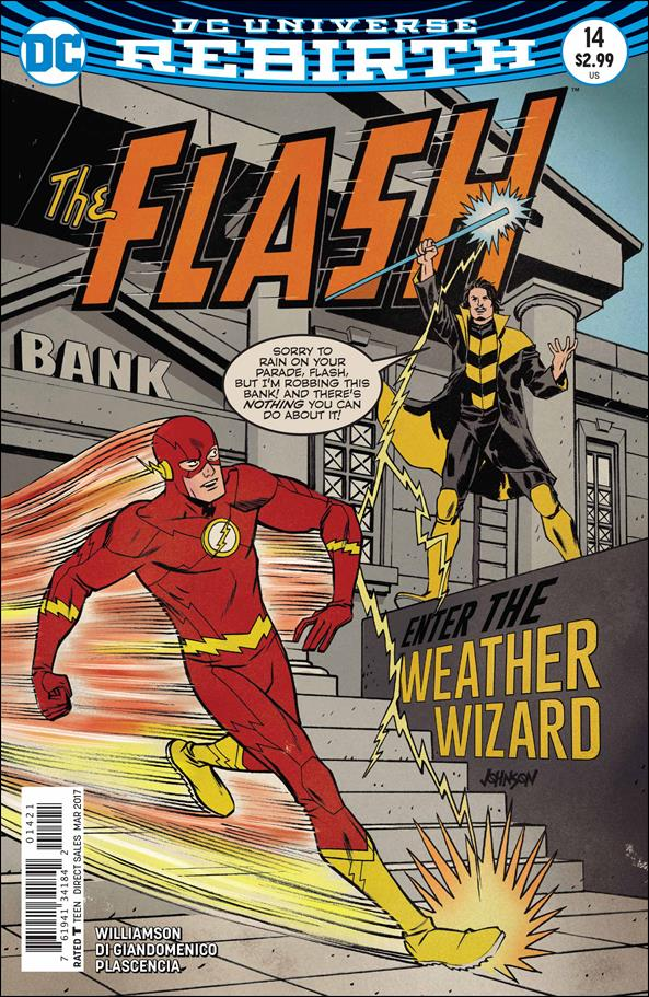 Flash (2016) 14-B by DC