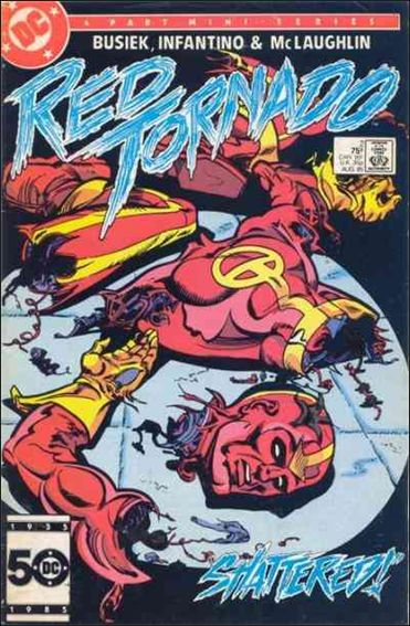 Red Tornado (1985) 2-A by DC