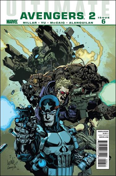 Ultimate Avengers 12-A by Marvel