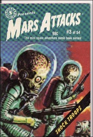 Mars Attacks (1988) 3-A