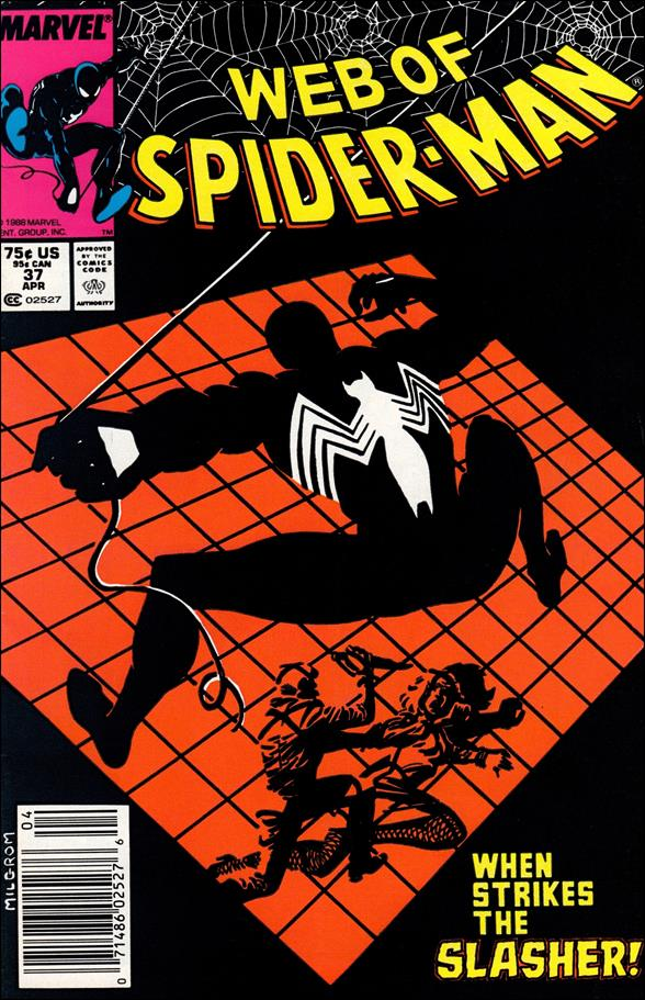 Web of Spider-Man (1985) 37-A by Marvel