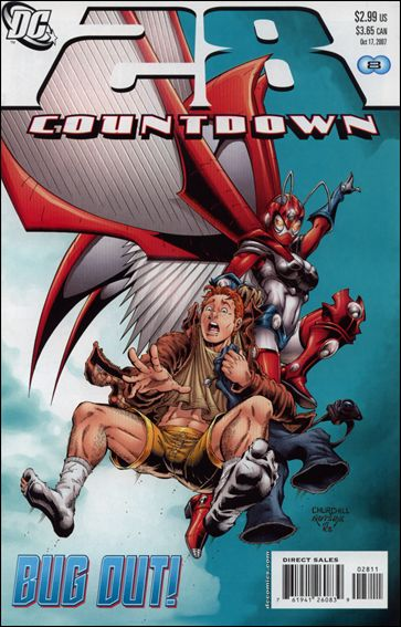 Countdown (2007) 28-A by DC