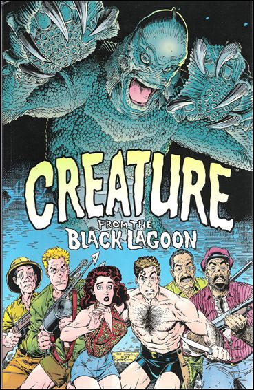 Universal Monsters: The Creature from the Black Lagoon 1-A by Dark Horse