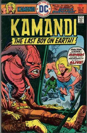 Kamandi, the Last Boy on Earth 35-A by DC