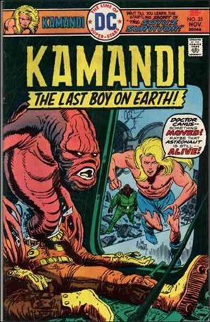 Kamandi, the Last Boy on Earth 35-A