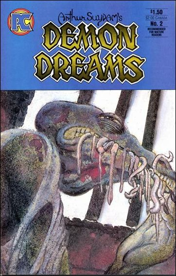 Demon Dreams 2-A by Pacific Comics