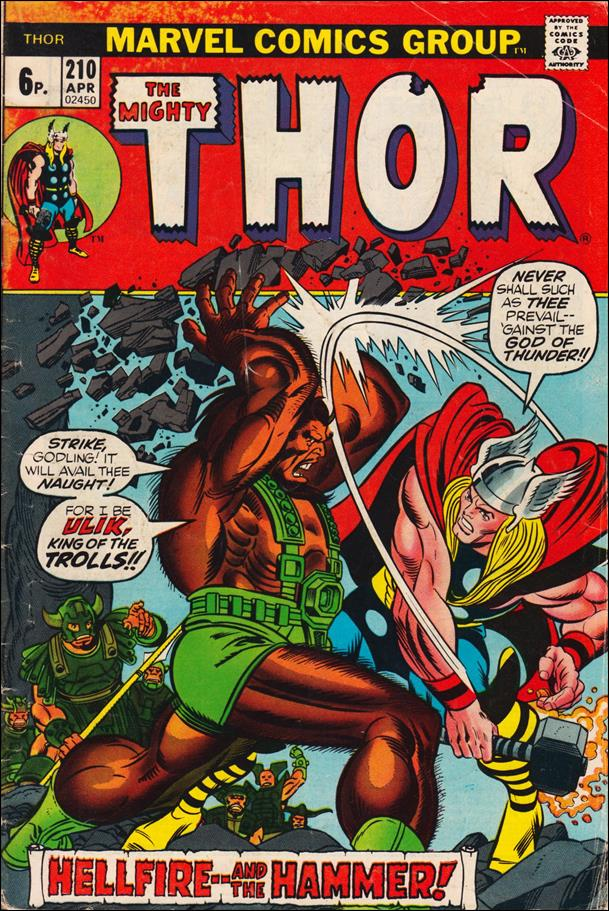 Thor (1966) 210-B by Marvel