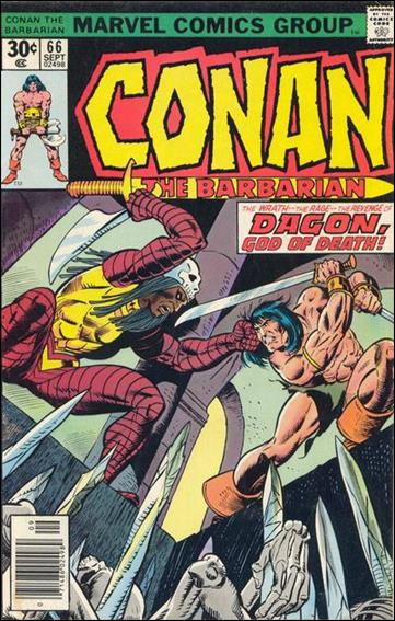 Conan the Barbarian (1970) 66-A by Marvel
