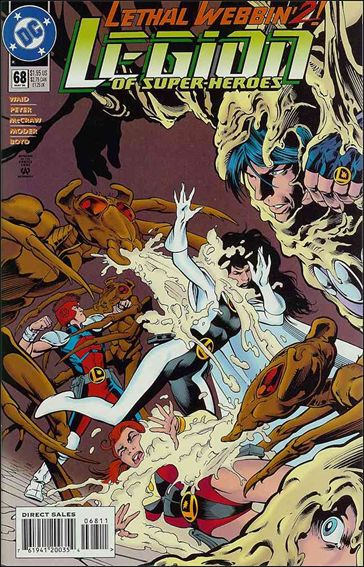 Legion of Super-Heroes (1989) 68-A by DC
