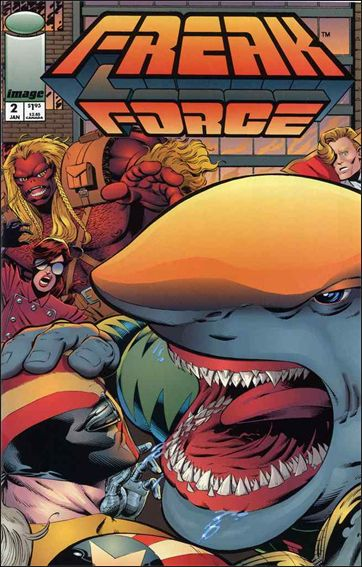 Freak Force (1993) 2-A by Image