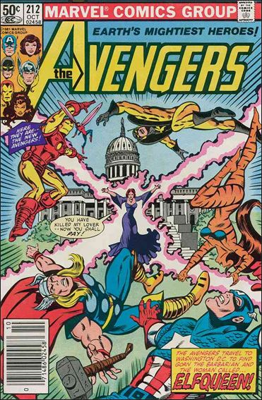 Avengers (1963) 212-A by Marvel
