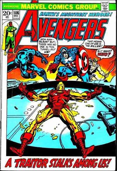 Avengers (1963) 106-A by Marvel