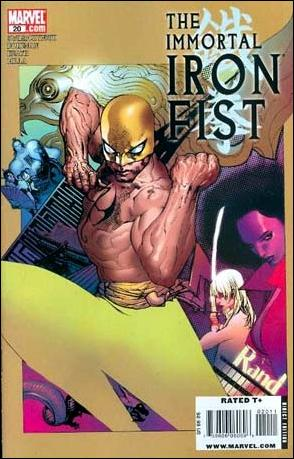 Immortal Iron Fist 20-A by Marvel