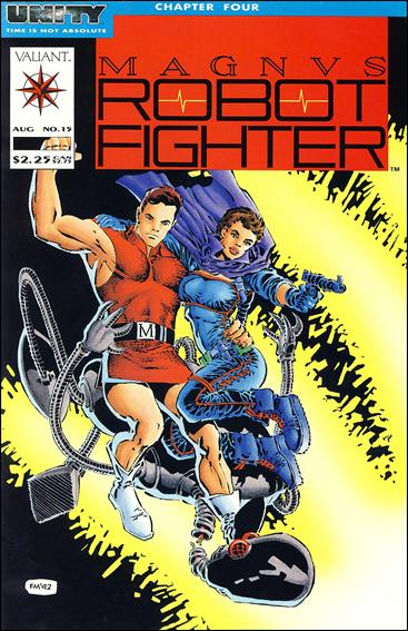 Magnus Robot Fighter (1991) 15-A by Valiant
