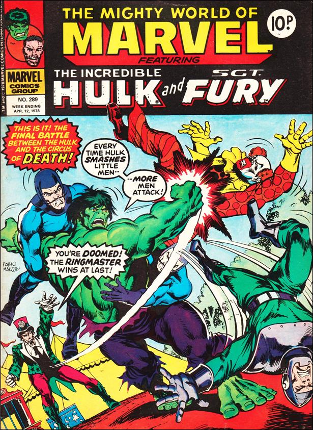 Mighty World of Marvel (UK) (1972) 289-A by Marvel UK